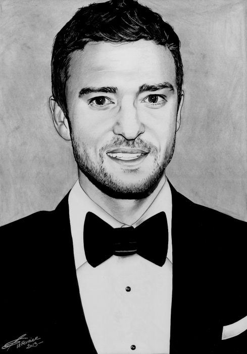 Justin Timberlake by greg-drawings